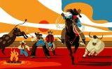 'Cowboys' en un 'rodeo'