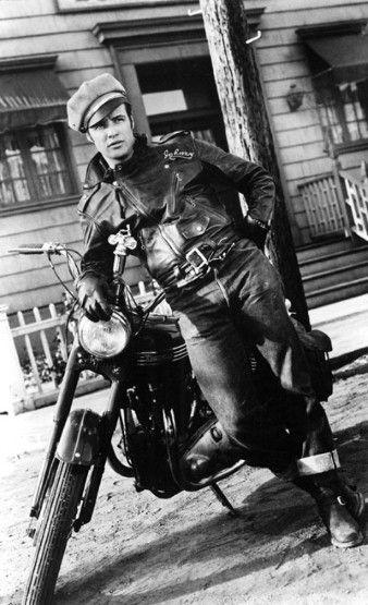 L'actor Marlon Brando a la pel·lícula 'El salvatge'