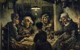 El quadre 'Menjant patates' no va triomfar