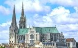 La catedral de Chartres, a França