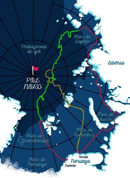 La ruta àrtica del 'Fram'