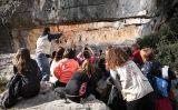 Visita guiada a les pintures del Cocó de la Gralla, al Parc Natural dels Ports