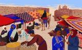 El mercat de Tombouctou en temps medievals