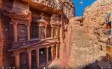 Imatge panoràmica de Petra