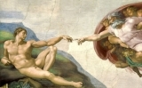 Déu crea Adam a la Capella Sixtina