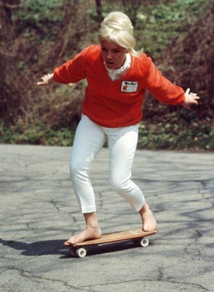 Patti McGee demostra el seu equilibri