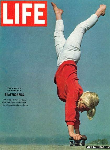 Patti McGee a la portada de la revista 'Life' el 1965