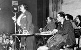 Frederica Montseny en un míting a València el 1937