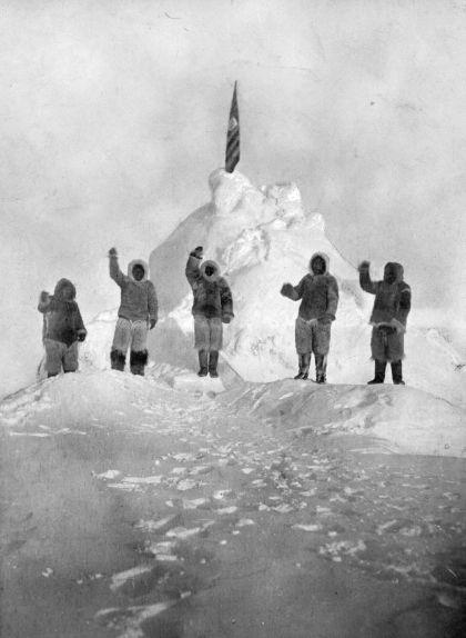 Una foto de la gesta: el pol Nord!