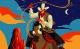 Un 'cowboy' al galop branda un llaç