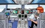 La cabina de l'Airbus A380